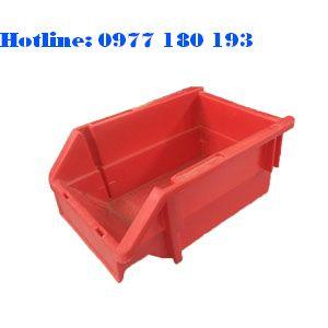 Khay Nhựa A5 màu đỏ Kích thước: 198x135x90mm