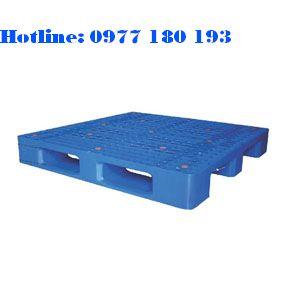 Pallet PL06LK Kích thước: 1100x1100x150mm Trọng tải động: 1000kg Trọng tải tĩnh: 4000kg