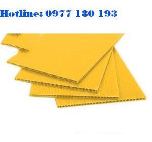 Tấm nhựa danpla màu vàng. Kích thước: 1220x2440mm Độ dày: 2mm - 2.5mm - 3mm-4mm-5mm: 1220x2440mm Độ dày: 1mm - 2mm - 3mm-4mm-5mm