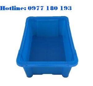 thùng nhựa A4 Kích thước:235x150x80mm