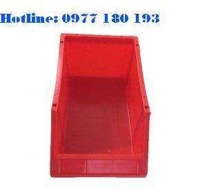 Khay Nhựa A8 đỏ Kích thước: 354x210x143mm