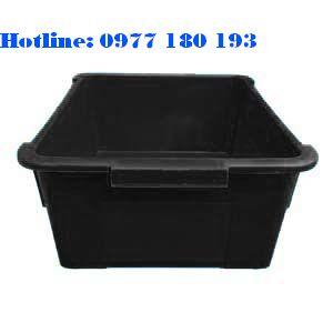Thùng Nhựa Chống Tĩnh Điện A3 Kích thước: 378x305x153