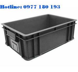 Thùng Nhựa Chống Tĩnh Điện B4 Kích thước: 510x340x162mm