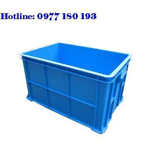 Thùng Nhựa Đặc B5 Kích thước: 600x388x300mm
