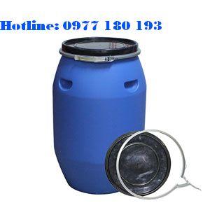 Thùng Phuy Nhựa 120L đai sắt Kích thước: 430 x H 760mm Trọng lượng: 5.2kg