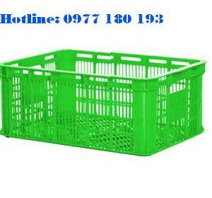 Sóng Nhựa Hở 2T1 Kích thước: 530x370x210mm