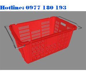 Thùng Nhựa rỗng HS011 Kích thước: 715x465x330mm