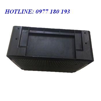 THÙNG NHỰA ĐẶC HS001 THÙNG NHỰA ĐẶC KÍCH THƯỚC 485x380x195mm