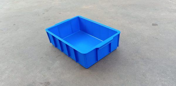 hình ảnh chân thực về thùng nhựa đặc YM003 kt:445x305x125mm